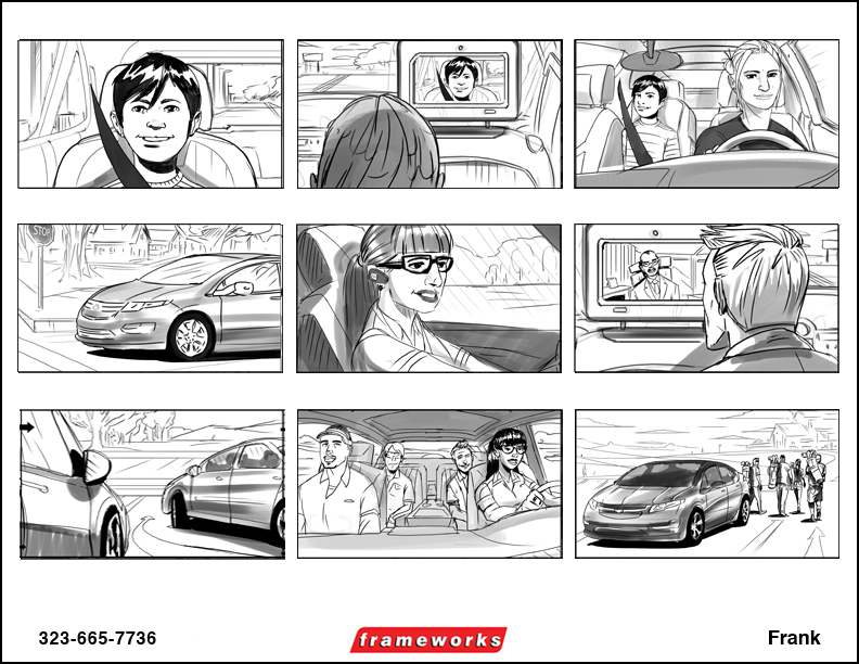 Frank - Storyboard Artists   Story Boards   Art Storyboards